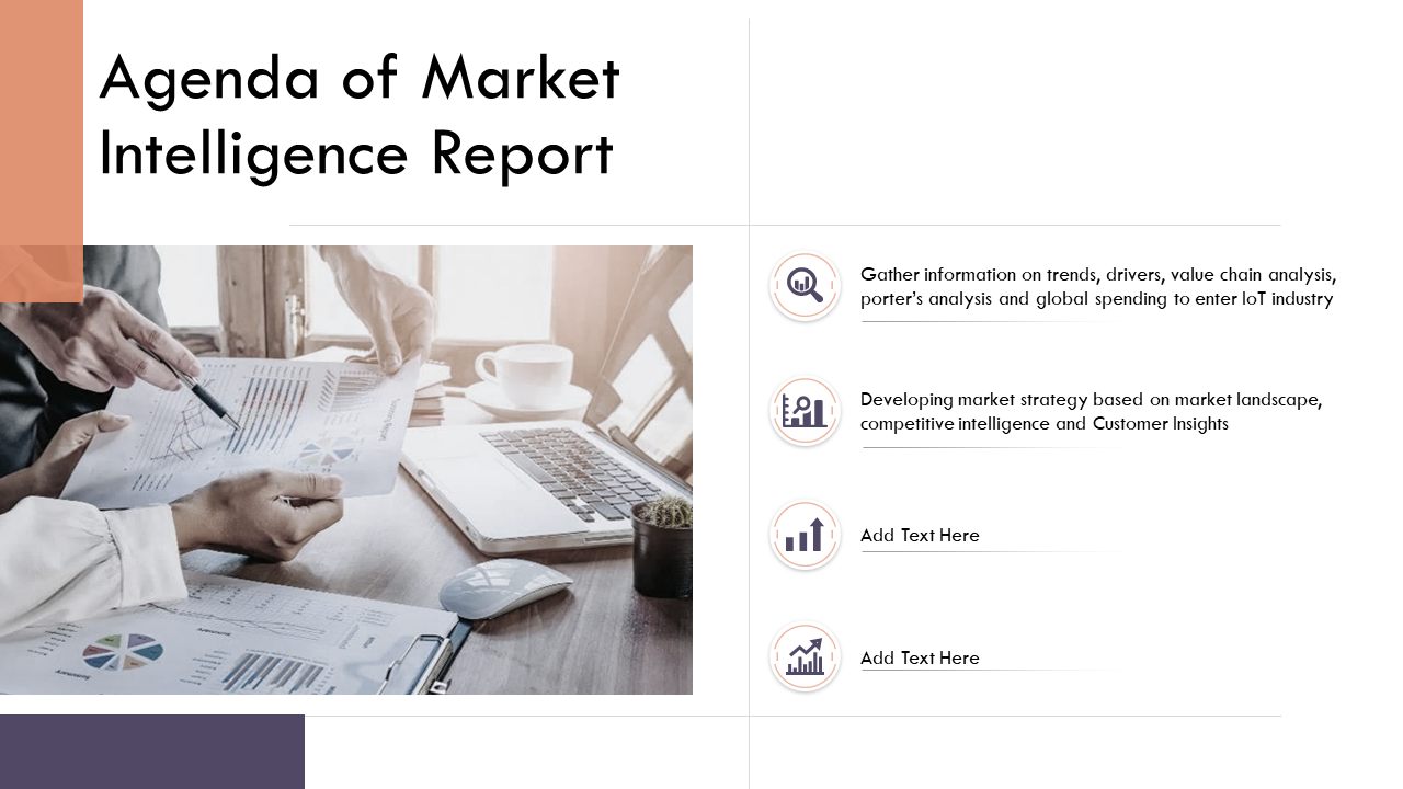 Market Intelligence Report PPT Template