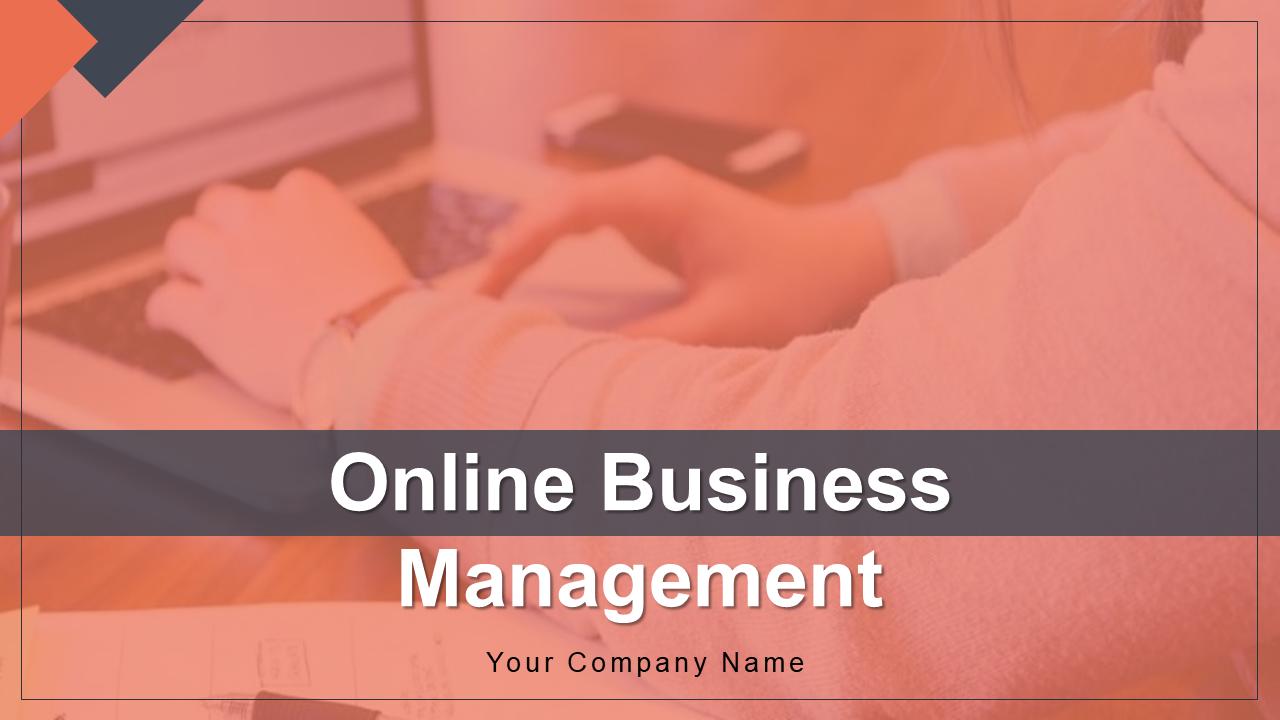 Online Business Management PowerPoint Presentation Slides