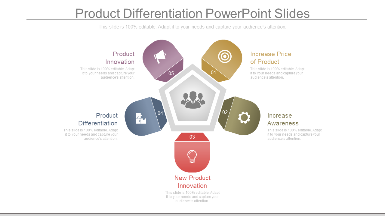 Product Differentiation PowerPoint Slides