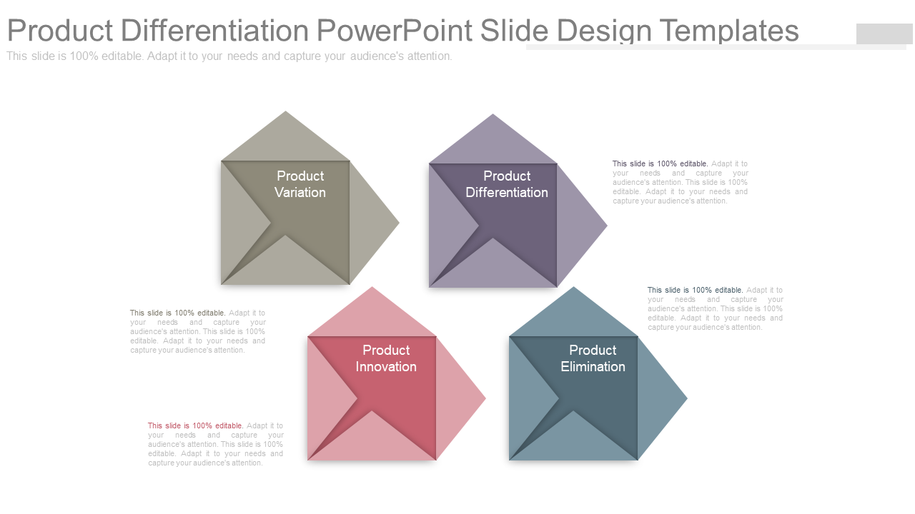 Product Differentiation PowerPoint Slide