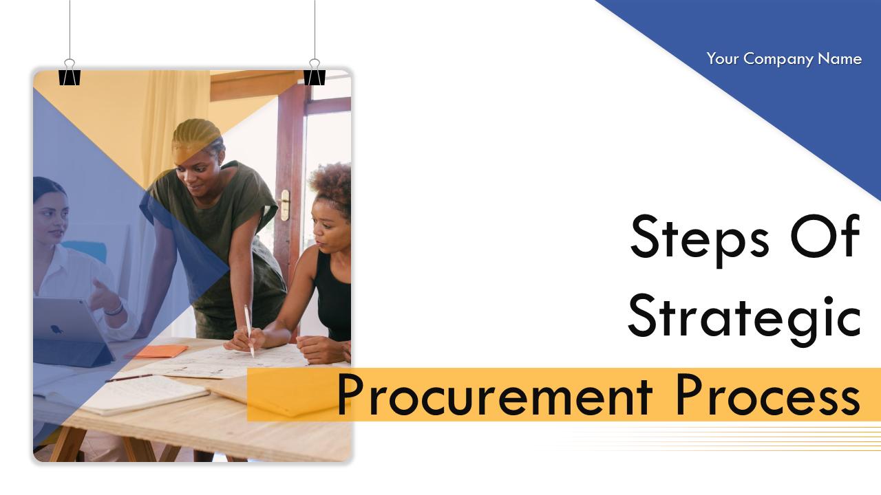 Steps Of Strategic Procurement PowerPoint Slides