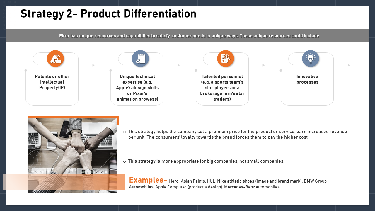 Strategy 2 Product Differentiation Forces PPT