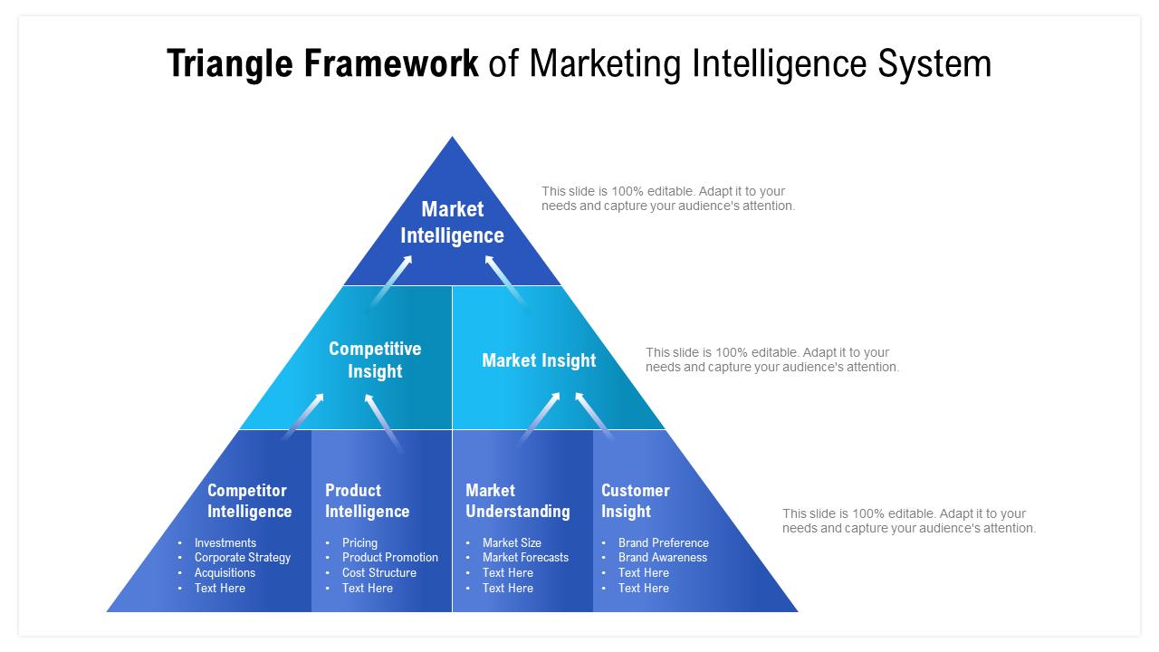Triangle Framework Of Marketing Intelligence System