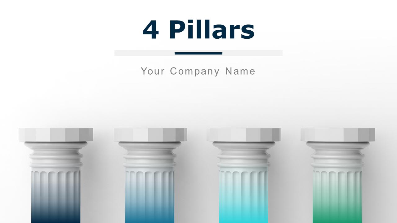 4 Pillars Continual Improvement Corporate Governance PPT