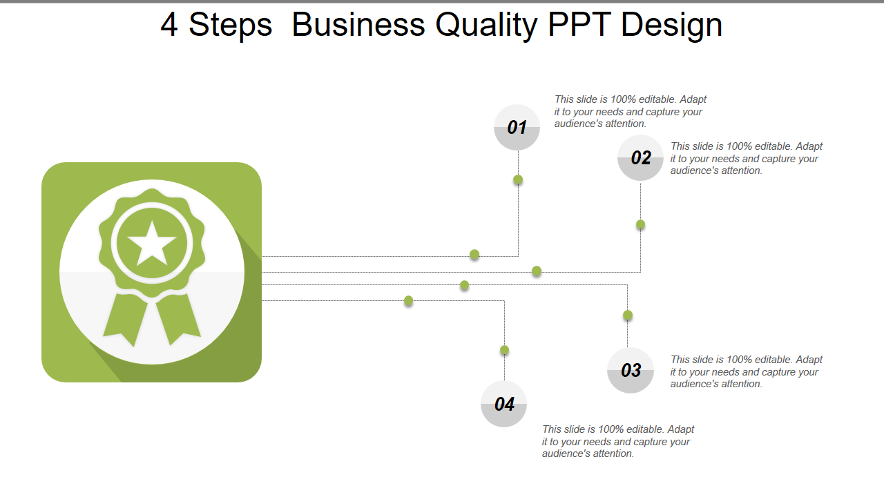 4 Steps Business Quality