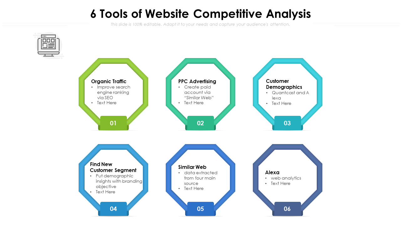 6 Tools Of Website Competitive Analysis