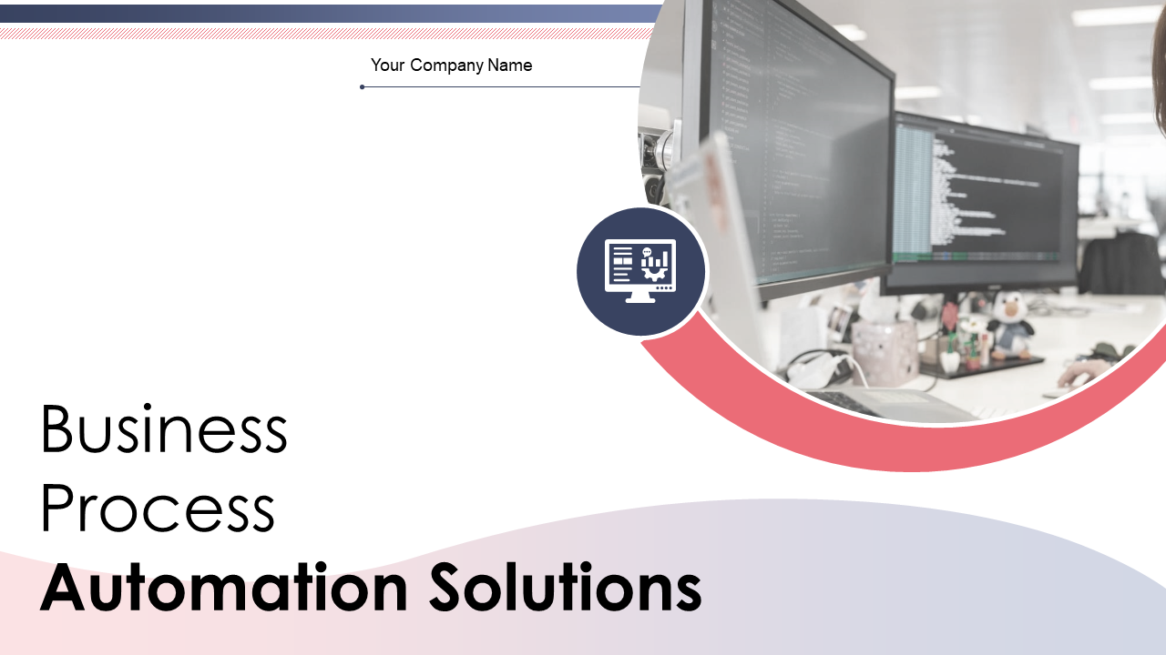 Business Process Automation Solutions PowerPoint Presentation