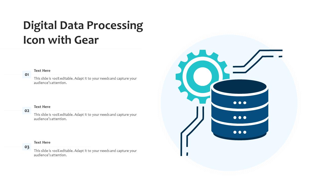 Digital Data Processing Template