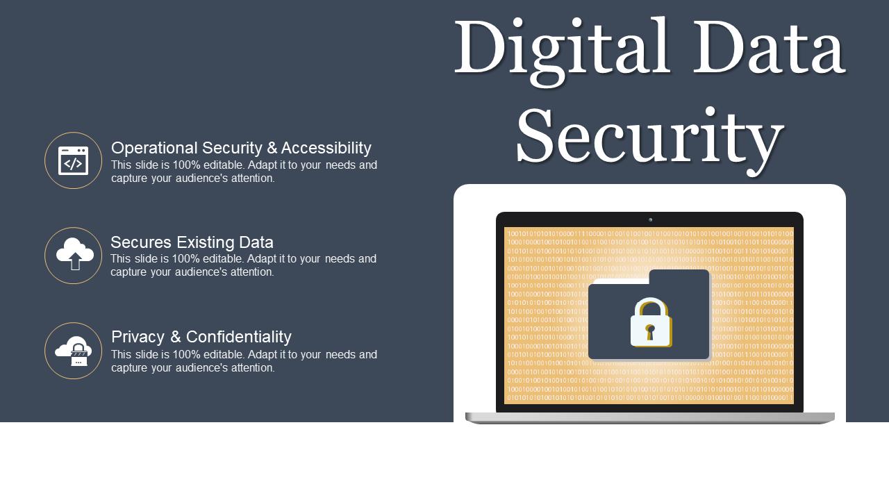 Digital Data Security Template