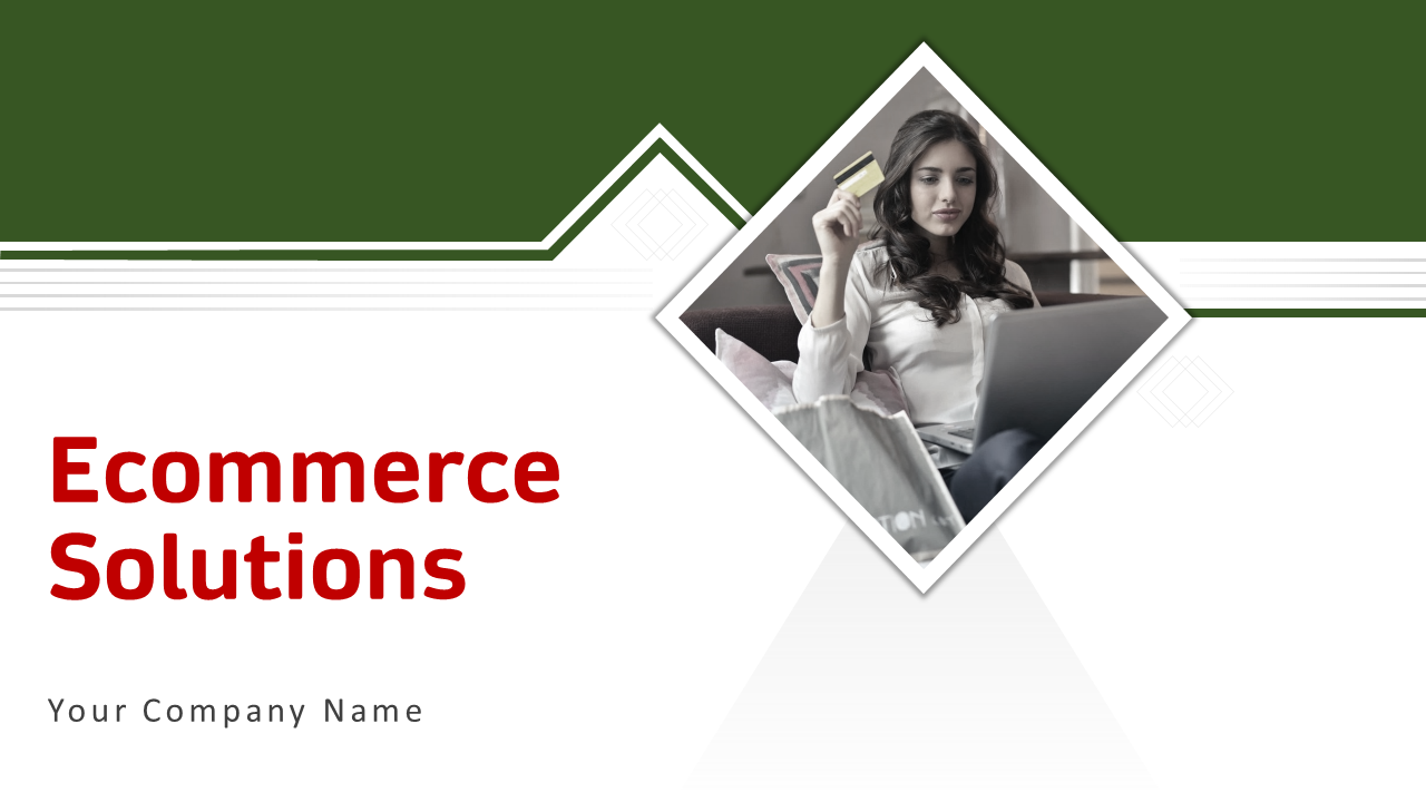 Ecommerce Solutions PowerPoint Presentation