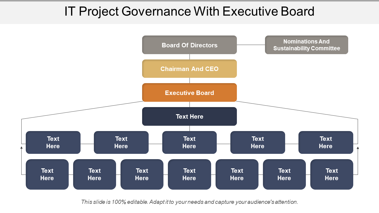 IT Project Governance With Executive Board