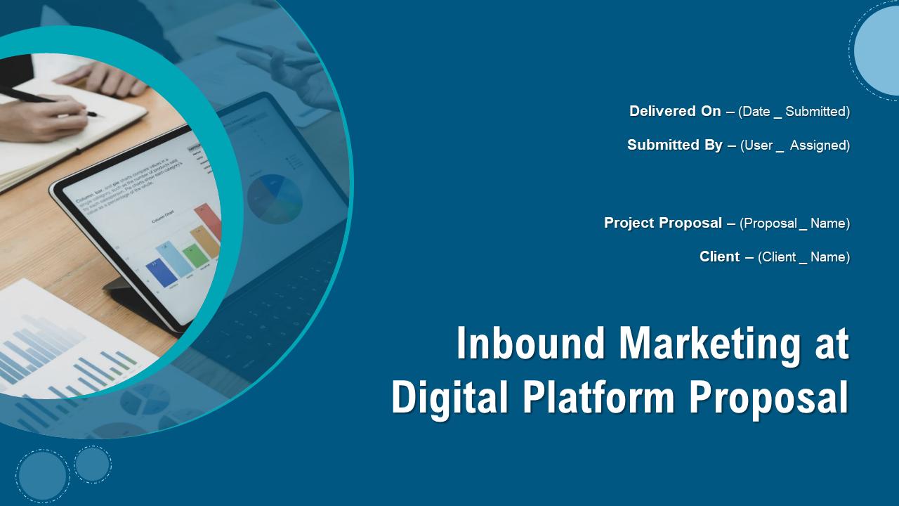 Inbound Marketing At Digital Platform Proposal