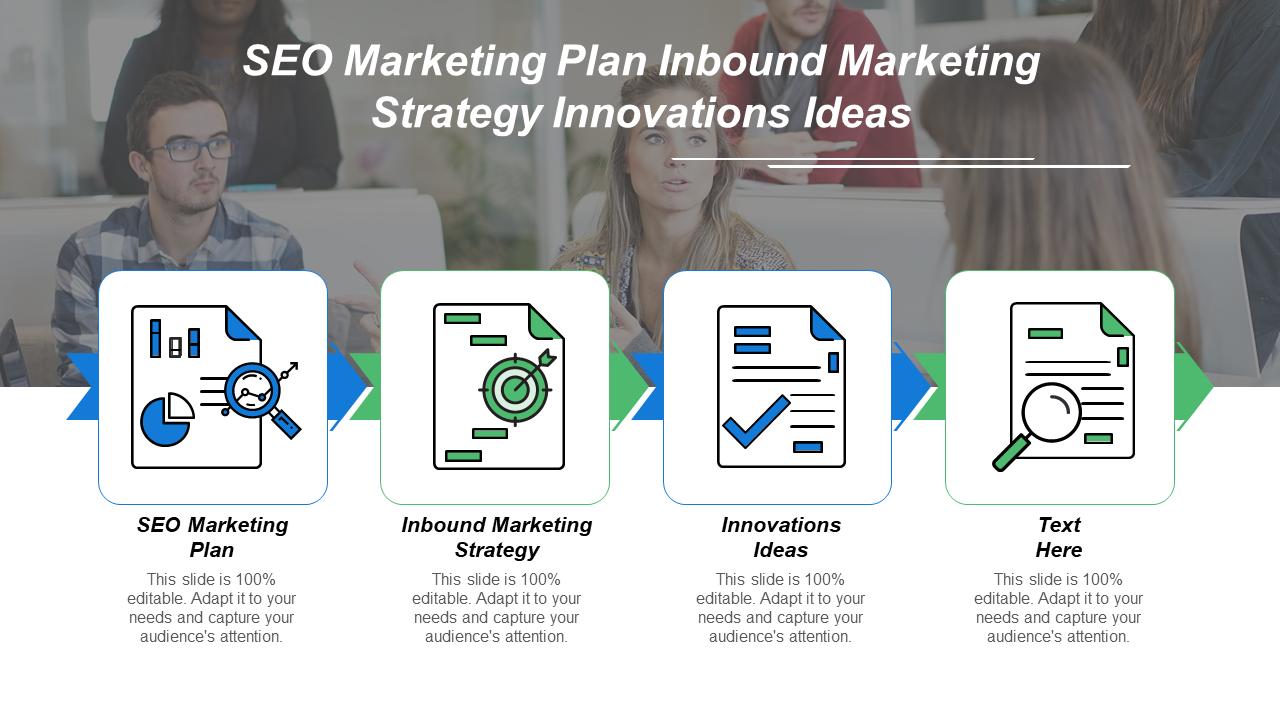 SEO Marketing Plan Inbound Marketing Template