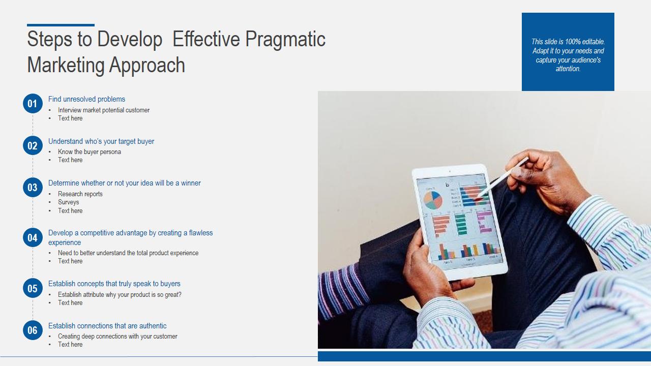 Pragmatic Marketing Approach