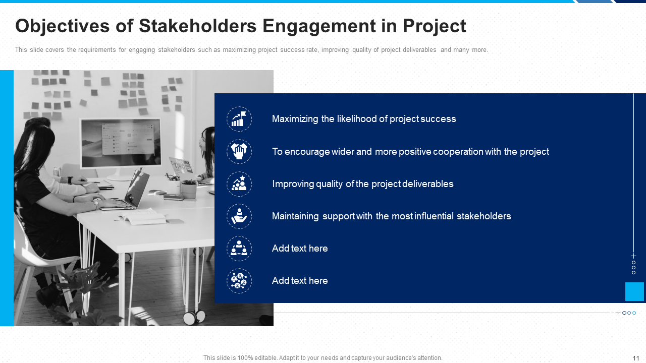 Objectives of Stakeholder Engagement in Project PPT