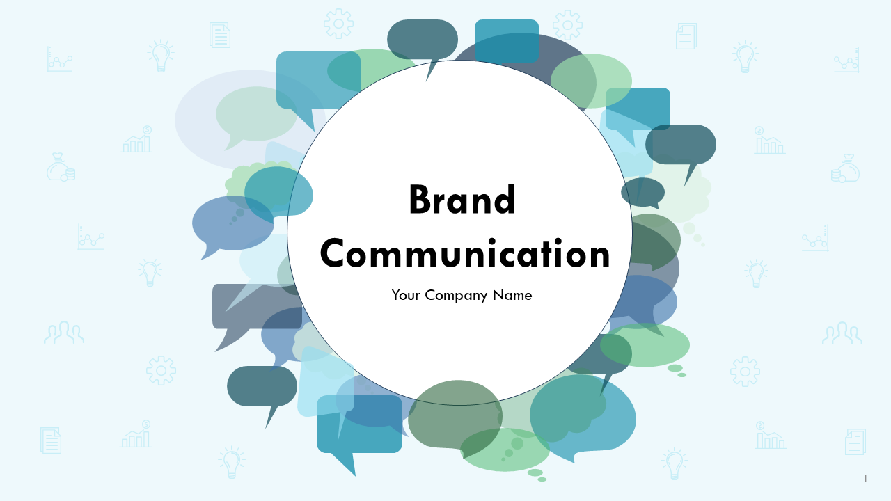 Brand Communication PowerPoint Presentation