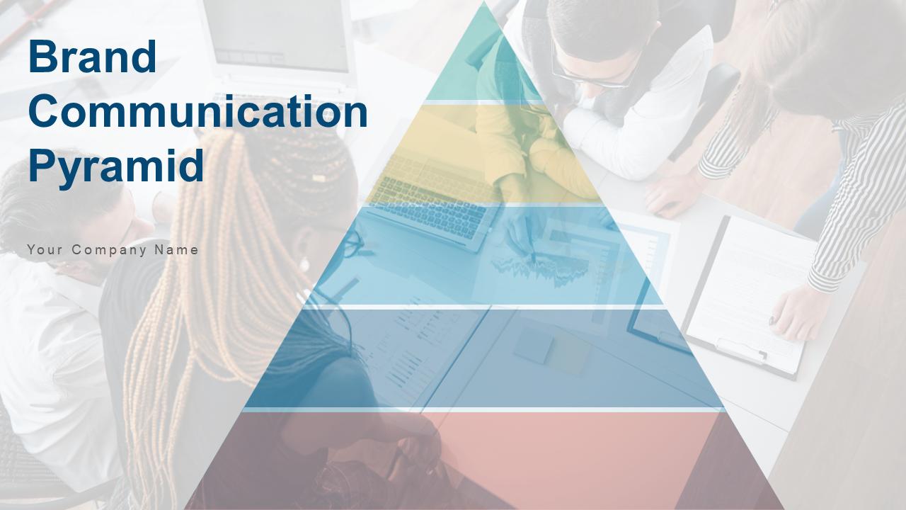 Brand Communication Pyramid Awareness PPT Template