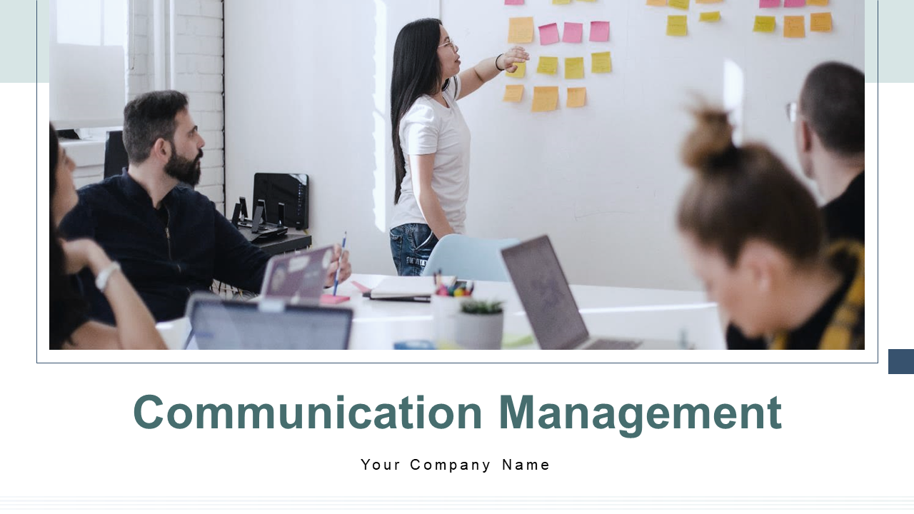 Communication Management Processes PPT Template