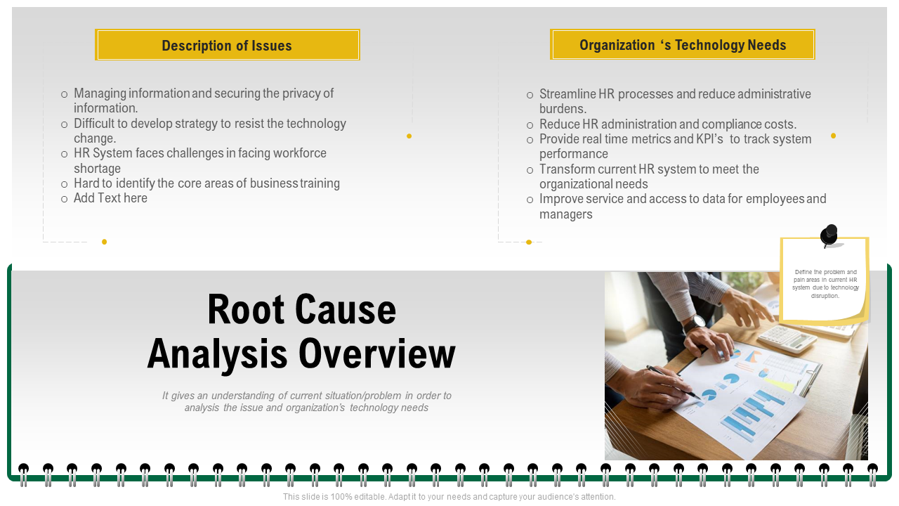 Root Cause Analysis Overview