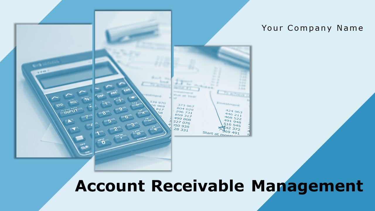 Accounts Receivable Management PowerPoint Presentation Slides