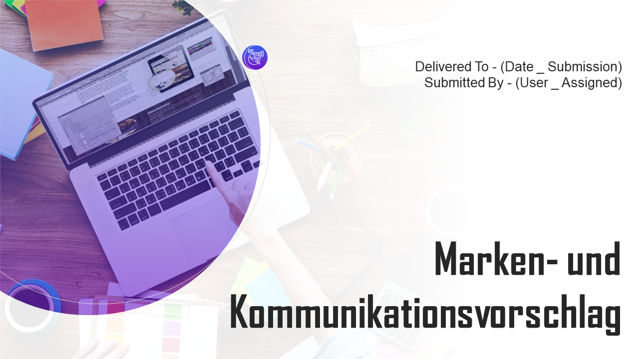 Branding und Kommunikationsvorschlag PowerPoint Präsentation