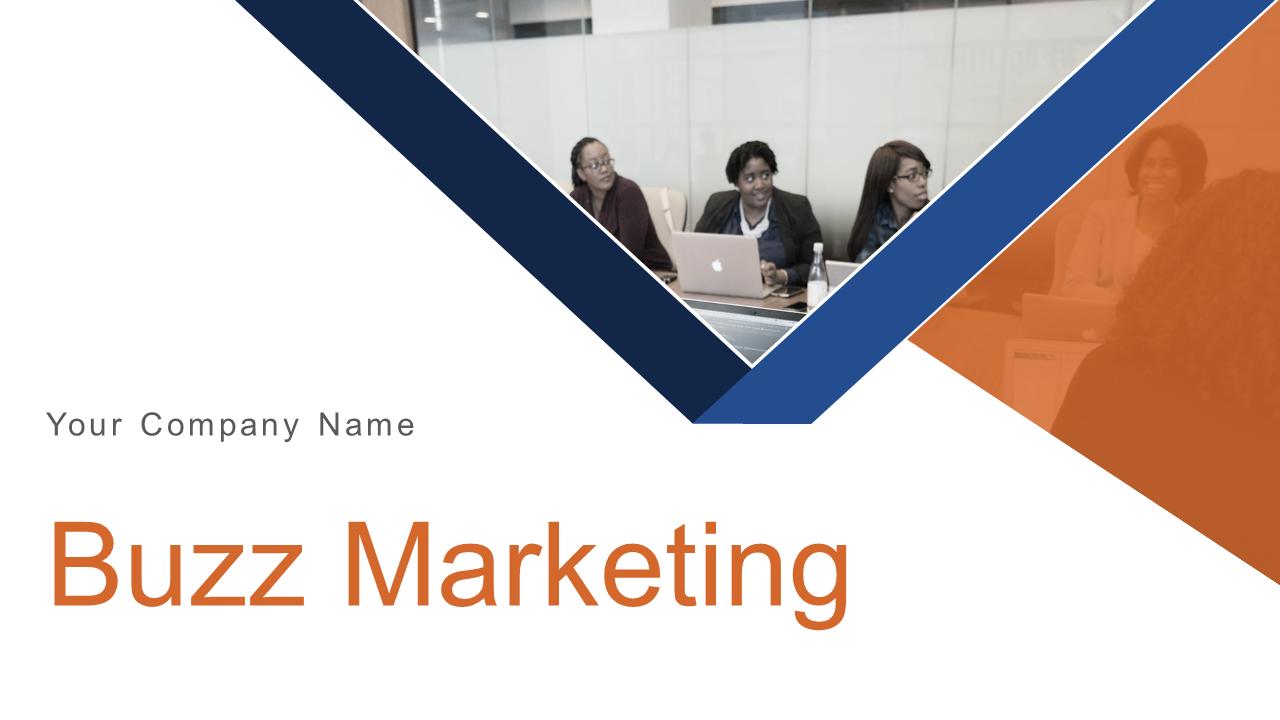 Buzz Marketing PowerPoint Präsentation