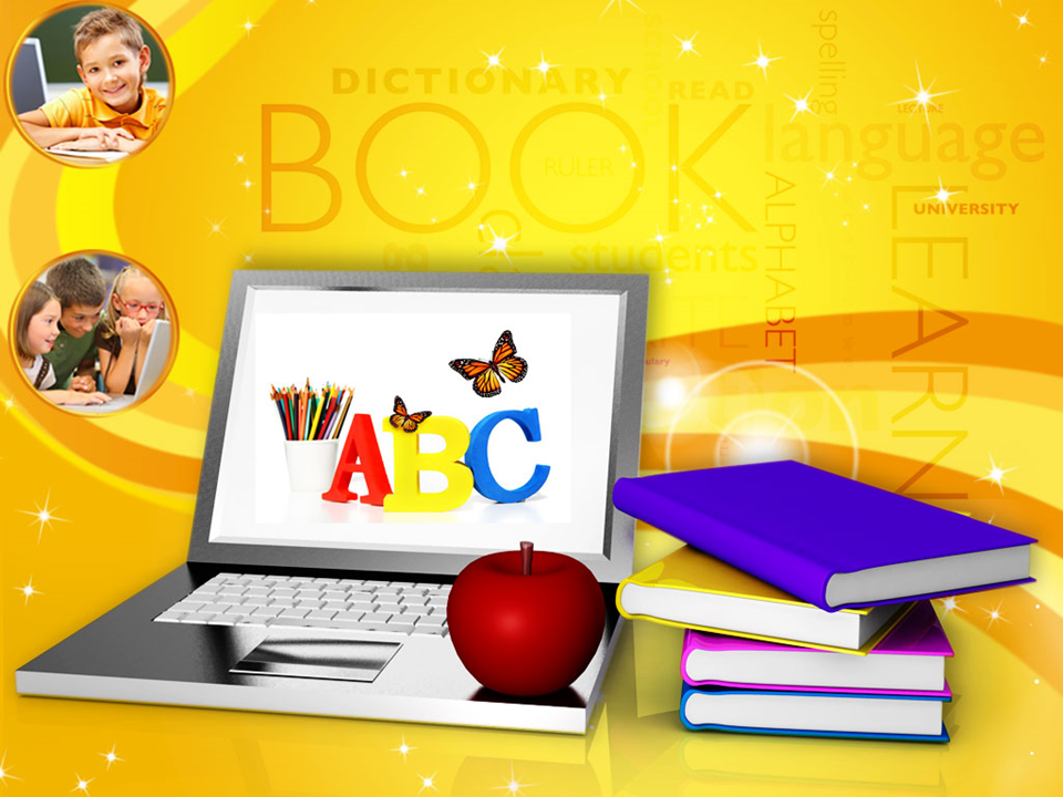 Modern Education And Online Learning PowerPoint Templates