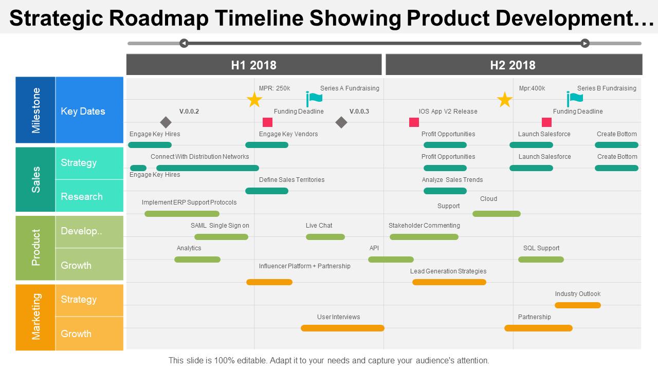Strategic Roadmap Timeline