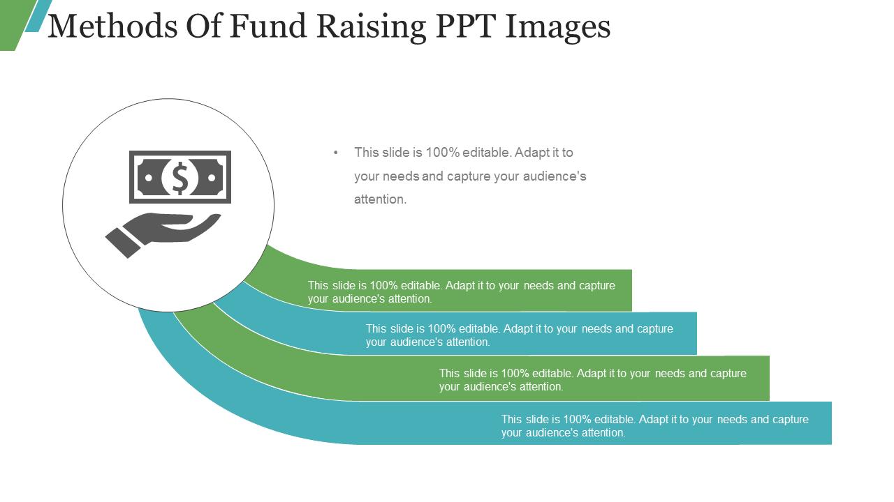 Methods Of Fund Raising PPT Images